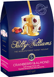 Sally Wiliams Nougat - Almond & Cranberry