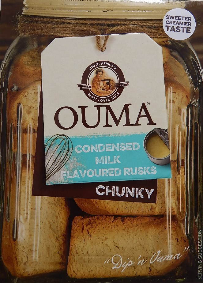 Ouma Rusks Condensed Milk South African Goodies