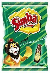 Simba Potato Chips - Original Chutney