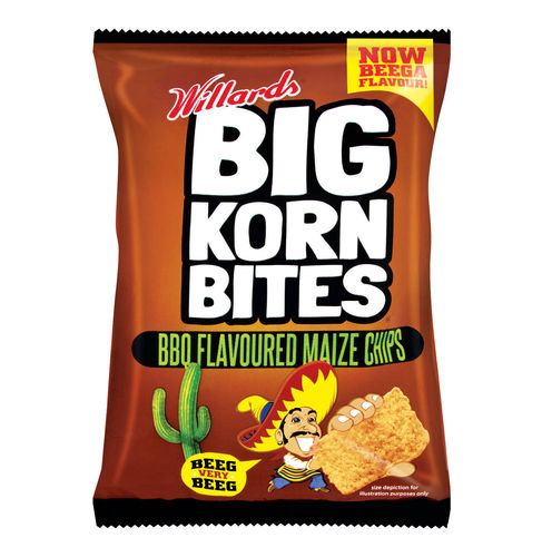 Willards Big Korn Bites - BBQ