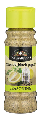Ina Paarman Seasoning - Lemon & Black Pepper