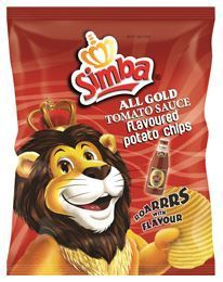Simba Potato Chips - Tomato Sauce
