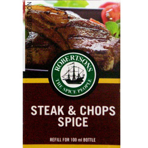 Robertsons Seasoning - Steak & Chops Refill
