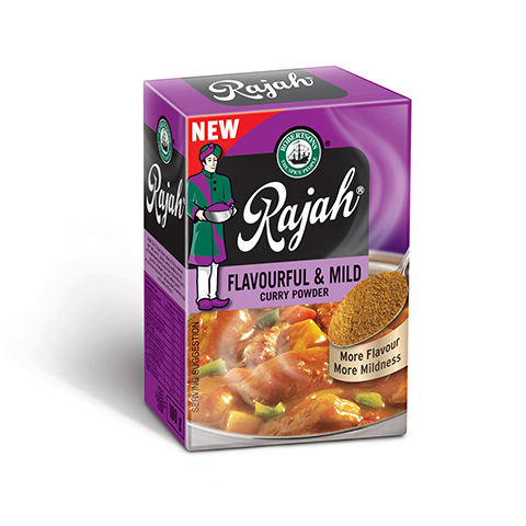 Rajah Curry Powder - Flavourful and Mild  100gr