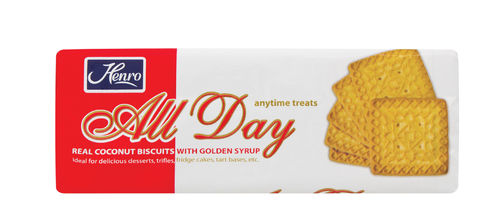 Henro's All Day - Coconut Biscuits  (Tennis Biscuits)