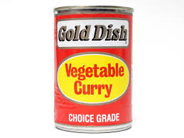 Gold Dish - Vegetable Curry